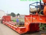 Front Load End Rear Ramp Lowbed Semi Trailer