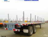 3 Axle Low Bed Flat Semi Trailer
