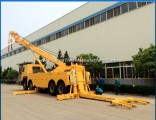 China 30 Ton Towing Wrecker Truck, 8X4 One Lift Two Rotator