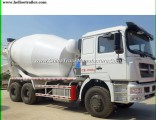 10 Wheeler Sinotruk 371HP 10cbm Cement Concrete Mixer Truck