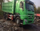 20 Cubic Used HOWO Heavy Construction Machinery Dump Truck