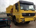 Sinotruk HOWO 6X6 336HP 10ton Crane Dump Truck