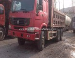 Used Red HOWO 20 Cubic Heavy Dump Truck