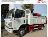 Isuzu 4X2 10 Tons Capacity Mini Rear Dump Tipper Truck