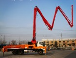 25m/30m/34m/38m/42m Full Automatic Concrete Boom Pump Truck with Ce&ISO