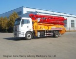34m Truck-Mounted Concrete Pump Truck/Boom Pump Truck with Ce&ISO9001