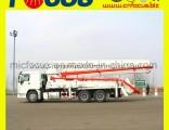 37m 39m Boom Concrete Pump Trucks with Low Fuel Consumption