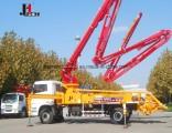 2018 New 34m Mini Concrete Pump Truck, Full Hydraulic Concrete Boom Truck