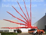 34m Portable Truck Mounted Concrete Pump Truck with High Quality and Best Price