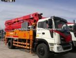 21m 25m 27m 29m 30m 33m 36m 38m Small Hydraulic Concrete Pump Truck with Remote Controller