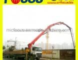 High Reliability 42m, 45m Truck-Mounted Concrete Boom Pump- Scorpion Concrete Pump