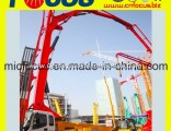 Stable Perpormance 37m 39m Work Range Concrete Pump Truck-Mounted Concrete Boom Pump