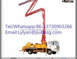 Factory Price 38m Jiuhe Truck Mounted Concrete Pump for Sale in Saudi Arabia