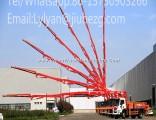 Factory Price 34m Jiuhe Truck Mounted Concrete Pump for Sale in Saudi Arabia