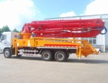 Mobile 38m 42m 47m Jh Boom Truck Mounted Concrete Hydraulic Pump on Sale