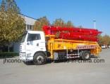 Jh Brand 34m Trcuk Mounted Concrete Construction Equipment Sales