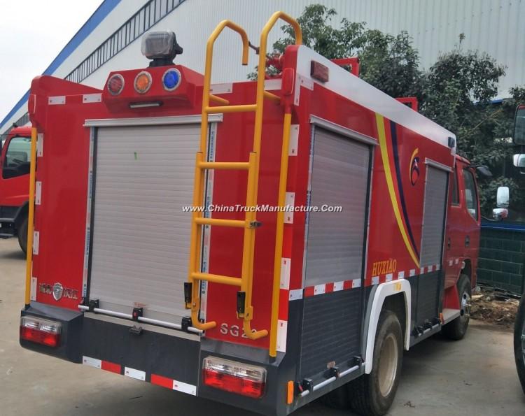 Dongfeng 1.8cbm - 4cbm Fire Trucks for Sale