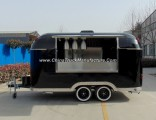 Customized Chinese Towable Food Van with Professional Craftsmanship