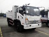 HOWO Cdw757 4X2 10-12 Tons 160 HP Light Duty Dump Truck