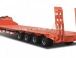 4 Axles Low Bed Semi-Trailer Cargo Truck