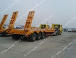 Low Bed Semi Trailer 3 Alex for HOWO Tractor Truck