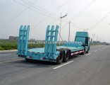 3 Axle 60ton 13m Low Bed Semi Trailer/Lowboy Semi Truck Trailer