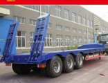 3axles 40-60 Foot Lowboy and Low Bed Semi Trailer