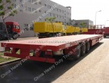 off Road Transport 60t Tractor Trailer Low Bed Trailers