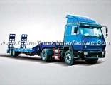 2 Axles 40t Low Bed Semi-Trailer Truck