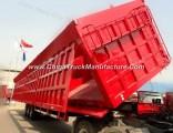 80ton 3 Alex Hydraulic Side Tipping Trailer Dumper Semi Trailer