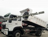 Sinotruk C5b 4X2 Diesel 6 Wheeler 15m3 Dump Trucks 12 Ton