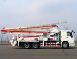 China Construction Vehicle HOWO 37m Concrete Pump Truck