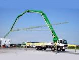 45m-56m Mobile Concrete Pump Truck with Boom