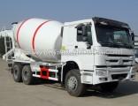 HOWO 6X4 8m3 Driving Type Zz1257n3241W Mixer Truck