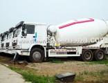 HOWO 6X4 + 10m3 Driving Type Zz1257n4048W Mixer Truck