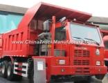 HOWO 6X4 380HP Zz5507s3842aj Mining Warrior Truck