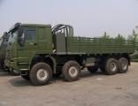 HOWO Second Hand Man Kat 1 8X8 Military Army Trucks