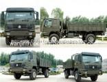 HOWO 4X4 All-Wheels Military Truck