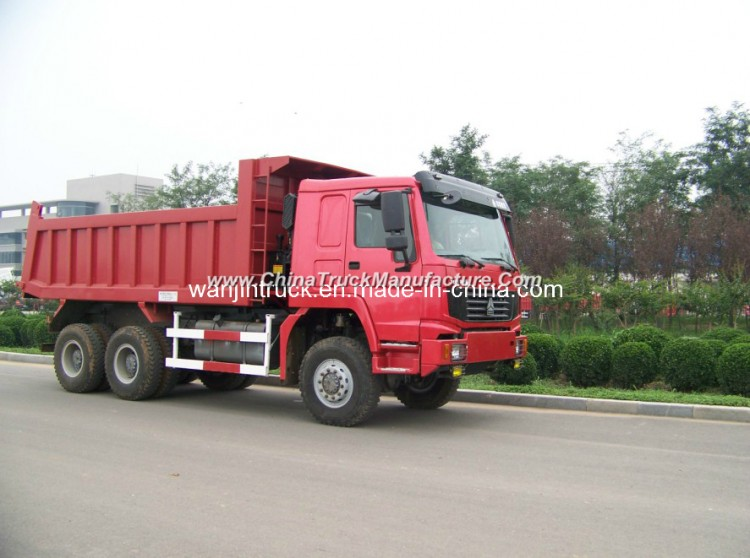 Heavy Duty Truck Sinotruk HOWO Dump Truck 6*4