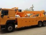 HOWO 6X4 30 Ton Road Wrecker Tow Truck