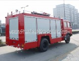 Dongfeng Red 153 Chassis 4*2 Fire Truck for Sale