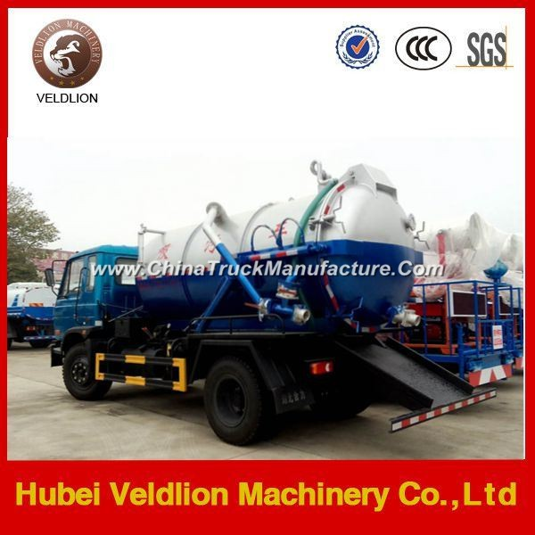 China Customized High Pressure Vacuum Suction Truck for Sale