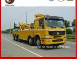 8X4 HOWO 60 Tons/60t/60ton/ Heavyduty Rotator Wrecker Towing