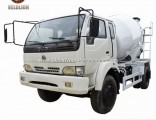 Chinese Brand Dongfeng 6 Wheelers Small Ready 3 Cubic Meters Mix Concrete Trucks, Concrete Transport