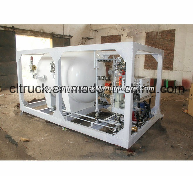 Factory Sale 50000 Liters Portable LPG Gas Station