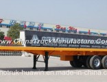Sinotruk 60ton Payload 3-Axle 40FT Container Flatbed Semi Trailer