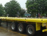 3 Axle Flat Bed Container Semi Trailer