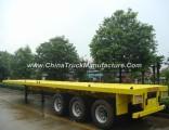 Sinotruk 40FT 3 Axles Flatbed Semi Trailer for Sale