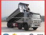 8X4 Self Loading Heavy Duty Cargo Truck 45 Ton Tipper Truck