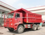 Ce Certificated Middle Lifting HOWO 6X4 Tire 70t Dump Truck